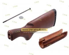 DM870 WOOD STOCK & FOREND KIT